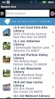 Screenshot of San Mateo County Library