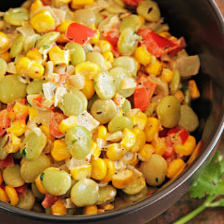 Green Chile Succotash