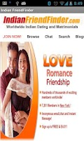 Screenshot of Indian FriendFinder