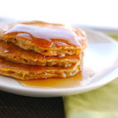 Cinnamon Apple Carrot Pancakes