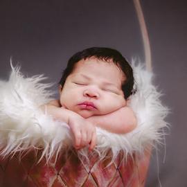 at 4 days, so cute by Rafie Rosli Putra - Babies & Children Babies ( babies, bandar putra, packages, kulai, cute, johorstudio, newborn, photography, soft, bayi, johor, basket, adorable, baby, bb )
