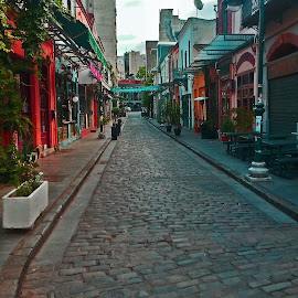 Ladadika by Stratos Lales - City,  Street & Park  Markets & Shops ( market, street, tavern, bar, morning )