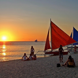 Boracay by Pete Velasquez - Landscapes Beaches ( aklan, bora, boracay, beautiful beach, philippines )