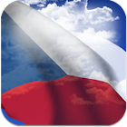 3D Czech Flag icon