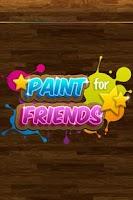 Screenshot of Paint for Friends