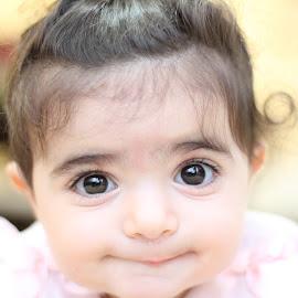 joy 2 by Samy Ayoub - Babies & Children Babies ( joy, innocence, baby, hair, eyes,  )