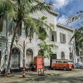 Kota tua, Jakarta by Jee Cornelius - Buildings & Architecture Public & Historical ( traveling, hdr, jakarta, historical, place, city,  )