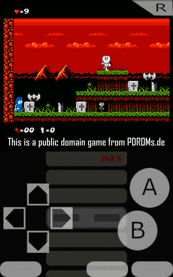 iNES - NES Emulator Screenshot 0
