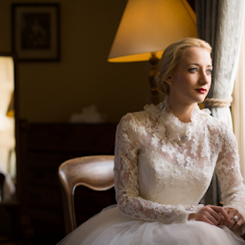 Elaine by Barrie Spence - Wedding Bride ( winton house )