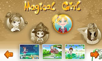 Screenshot of Girls games - Magic 4 in 1