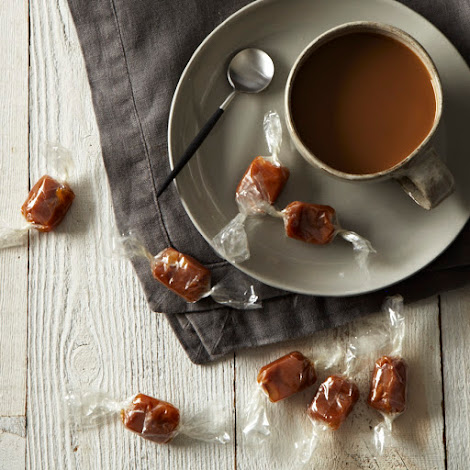 Coffee + Orange + Smoked Salt Caramels
