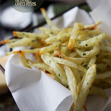 Double-Baked Crazy-Crisp Parmesan Oven Fries