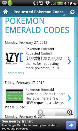 pokedroid-emerald for android screenshot