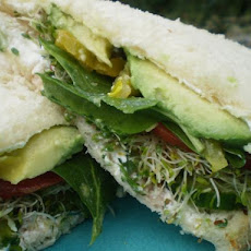 Veggies Dream Cucumber Sandwich