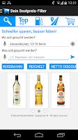 Screenshot of Einkaufen, Tanken, Geld sparen