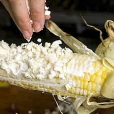 Grilled Corn with Cheese and Chile
