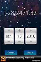 Screenshot of Stardate