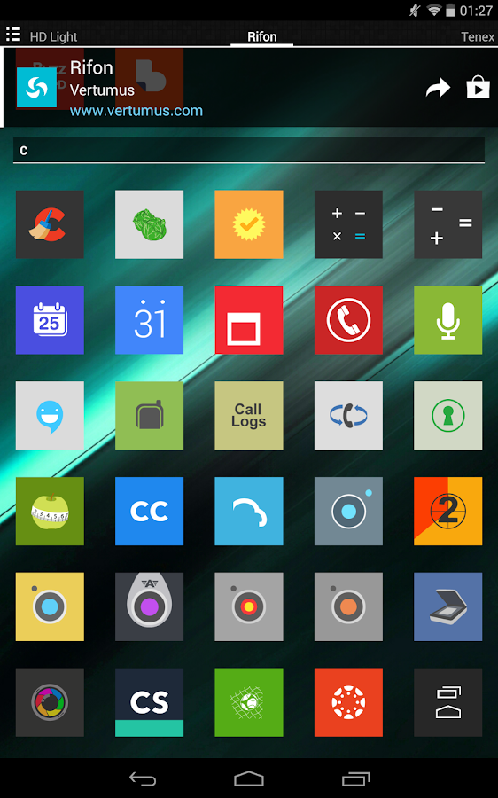 Rifon - Icon Pack Screenshot 14