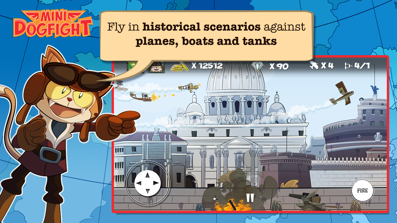 Mini Dogfight Screenshot 8