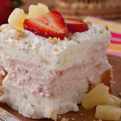 Heavenly Freezer Cake