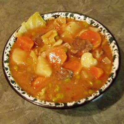 Venison and Vegetable Soup