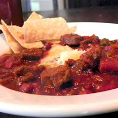 Mexican Mole Poblano Inspired Chili