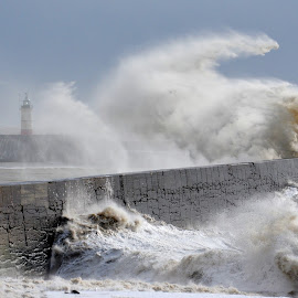 Newhaven Lighthouse by Mark Bond - News & Events Weather & Storms