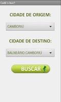 Screenshot of Cadê o Bus?