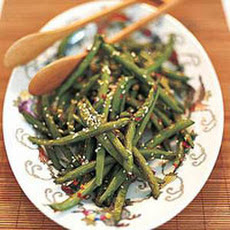 Hot Sesame Green Beans