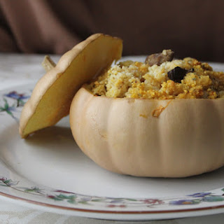 Couscous and Chestnut Christmas Stuffing