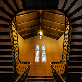 Upstairs by Andy Chow - Buildings & Architecture Architectural Detail ( building, interior, worship,  )