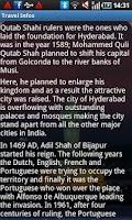 Screenshot of Hyderabad Travel Guide
