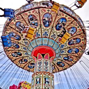 Below by Gary Ambessi - City,  Street & Park  Amusement Parks