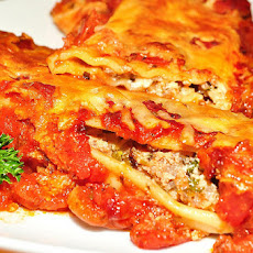 5 Ingredient Sausage and Cheese Manicotti Made Simple