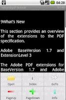 Screenshot of txtReader.PDF