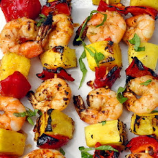 Chili Lime Shrimp Kabobs