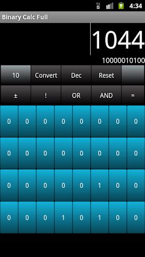 Binary Calc Full Converter