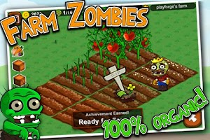 Screenshot of Zombie Farm