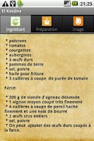 Screenshot of El Koujina-Recettes de Tunisie
