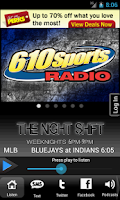 Screenshot of 610 Sports - KCSP