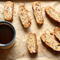 Candied Pecan Biscotti