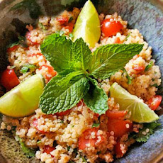 Quinoa Salad Recipe with Lime + Fresh Mint