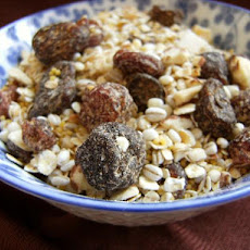 Cranberry-Almond Cereal Mix, Diabetic Friendly