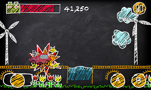 Chalkboard Buggy - screenshot