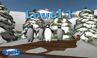 Screenshot of Penguin Snowcap Challenge