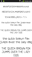 Screenshot of Fonts for FlipFont 50 #2