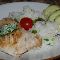 Sauteed Red Snapper With Ginger-Lime Butter