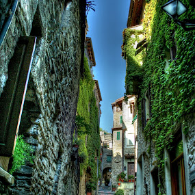 Dolceacqua by Jean Marc Colonna d'Istria - City,  Street & Park  Historic Districts