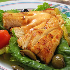 Cajun Chicken Salad With Cajun Dressing