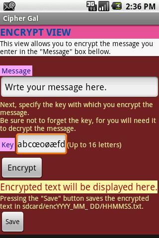 CipherCat 暗号化ソフト